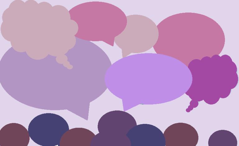 Keskusteluryhmä, yksinkertainen piirros
