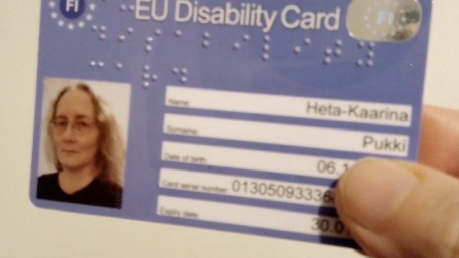 EU Disability Card